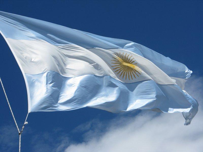 Colori della bandiera argentina - Bandiere bianche a colori ...