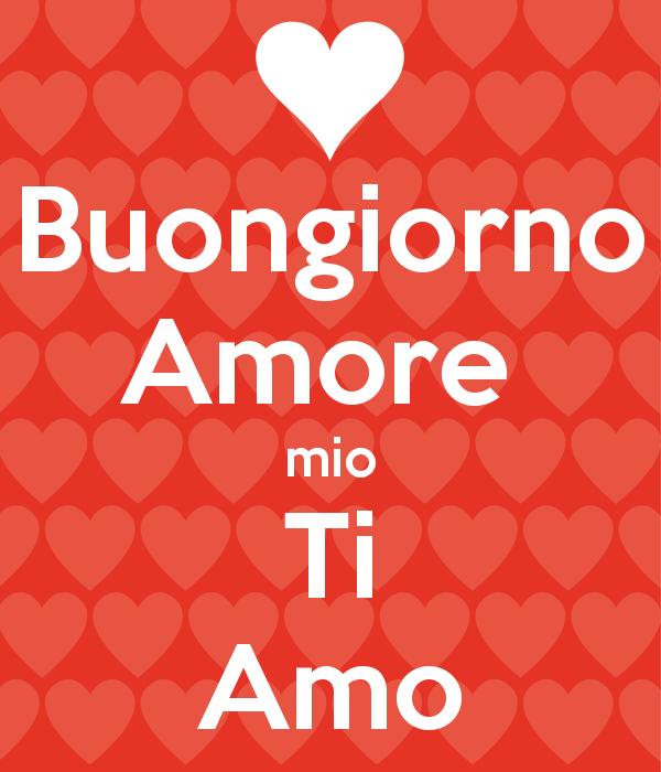 Bien-aimé Buongiorno amore FO64