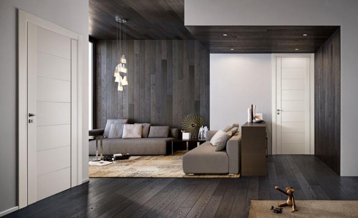 Abbinamento colori porte ed interni for Case rustiche interni pareti