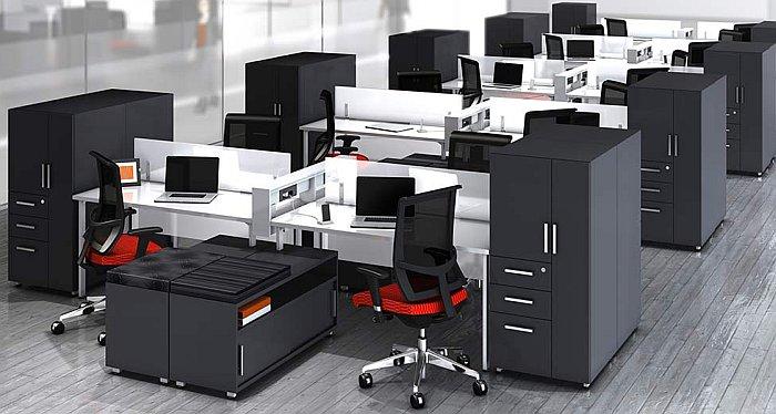 Mobili Per Ufficio : Abbinare i colori delle pareti ai mobili per ufficio