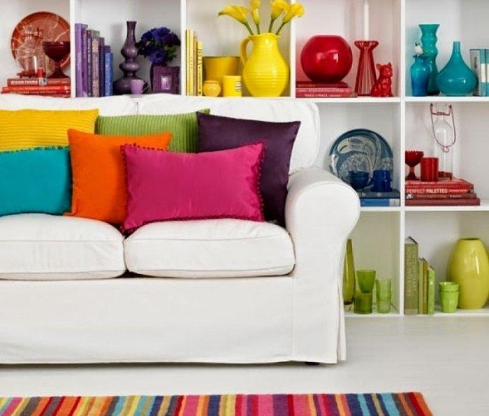 colori e arredamento - Arredamento Grigio E Rosso