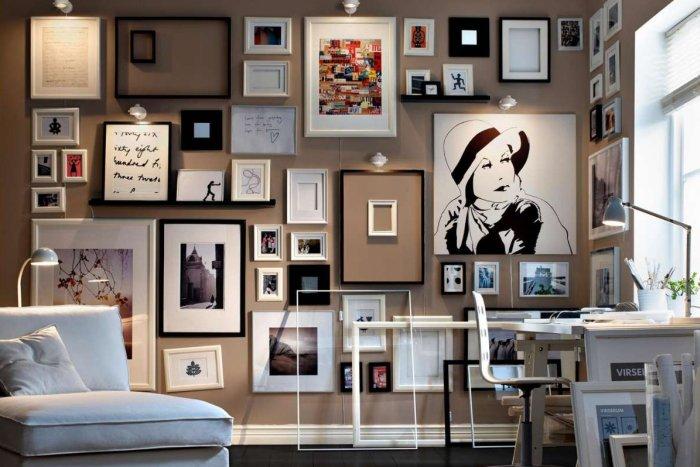 abbinare i colori dei quadri a pareti e arredo - Arredamento Moderno Con Quadri