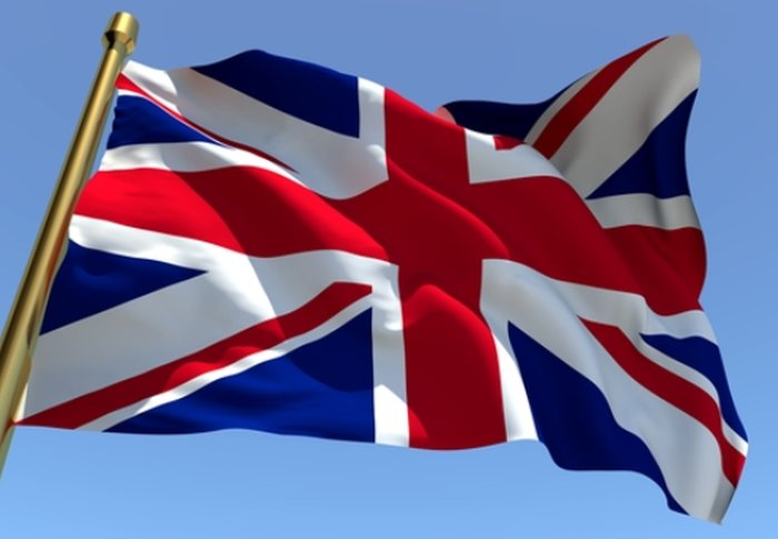 Colori della bandiera inglese for Disfare la valigia in inglese