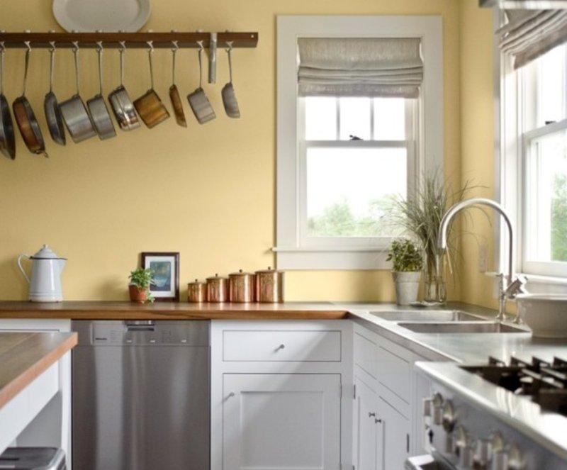 Colore pareti cucina gialla blu arancio giallo scopri - Colore muri cucina ...