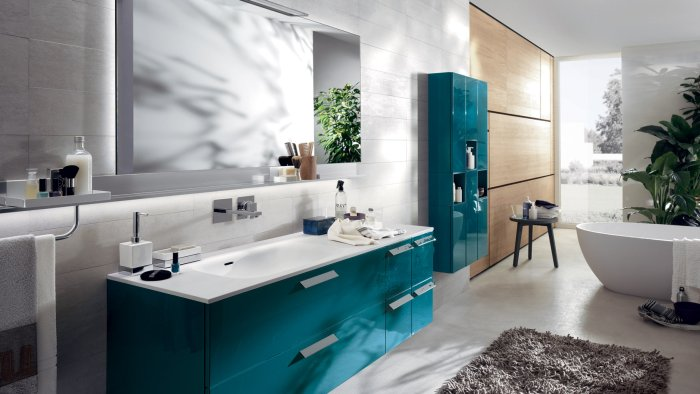 colori pareti del bagno