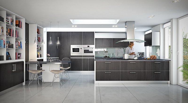 Cucina come abbinare i colori delle pareti e dei mobili - Colori cucina pareti ...