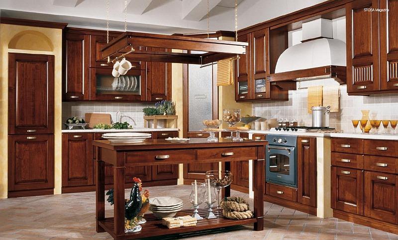 Cucina come abbinare i colori delle pareti e dei mobili - Pitturare mobili cucina ...