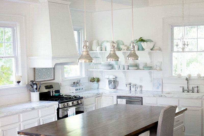 Cucina come abbinare i colori delle pareti e dei mobili for Grandi case cabinate