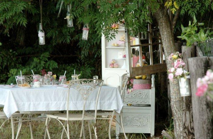 Colori arredamento giardino - Shabby chic giardino ...