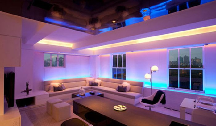 Illuminazione led per interni for Iluminacion led interior