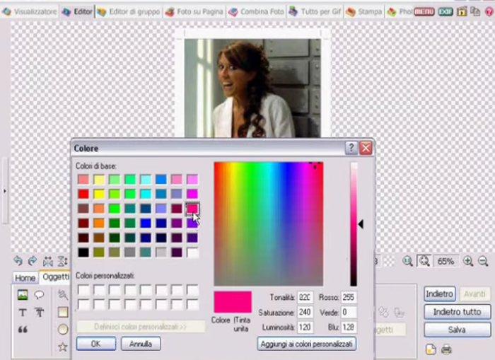 Modificare i colori delle foto per la stampa for Programmi di arredamento gratuiti