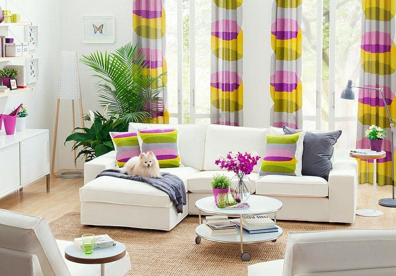 Colori delle tende di casa abbinamenti - Colori alle pareti di casa ...