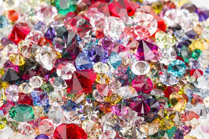 Eccezionale Colori delle pietre preziose WQ54