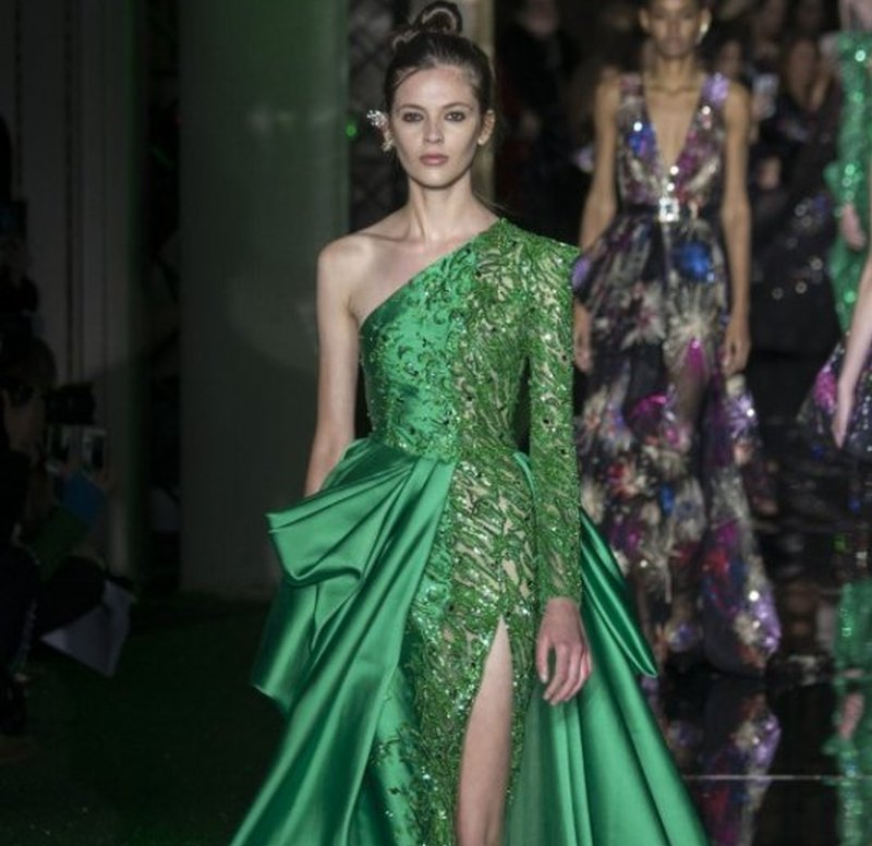 fcd4f7c5891d Abiti Sposa Verde » Abito da sposa verde linda collezione. Abito da ...