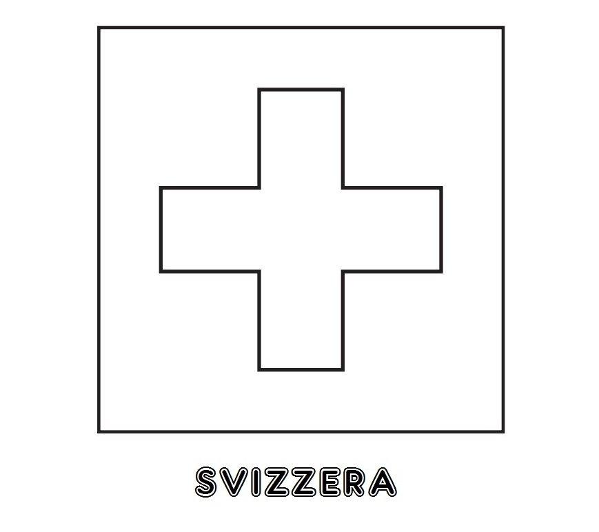 Colori della bandiera svizzera for Immagini della pimpa da colorare