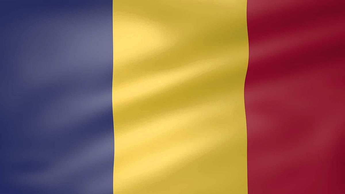 Colori della bandiera della romania - Bandiere bianche a colori ...