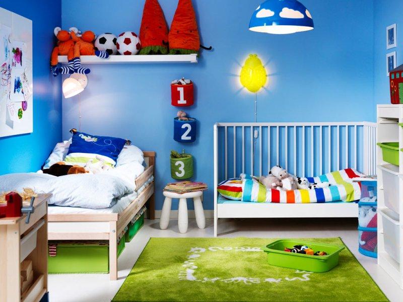 Colori Pareti Azzurro : Colori pareti camerette
