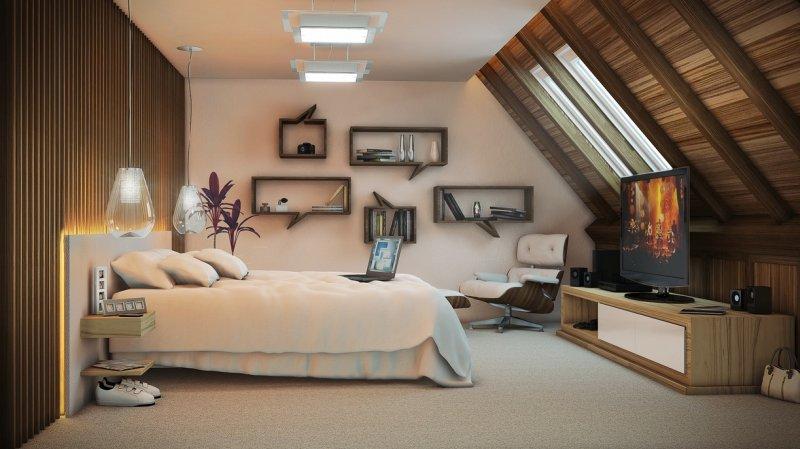 Arredamento Camera Da Letto Marrone : Colori camera da letto