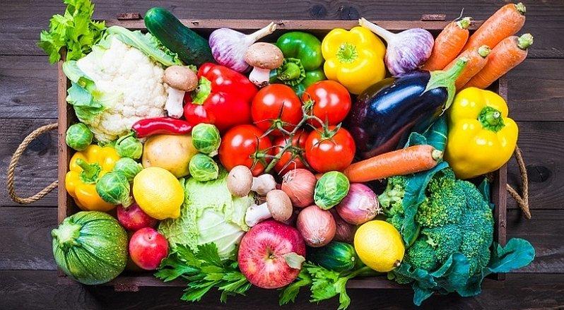 Colori della frutta e della verdura for Decorazioni con verdure e ortaggi