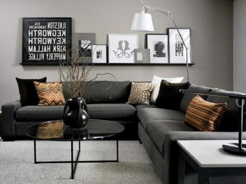 colori pareti soggiorno - Colori Soggiorno Grigio