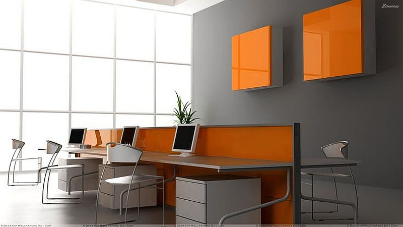 Popolare Colori pareti ufficio WV84