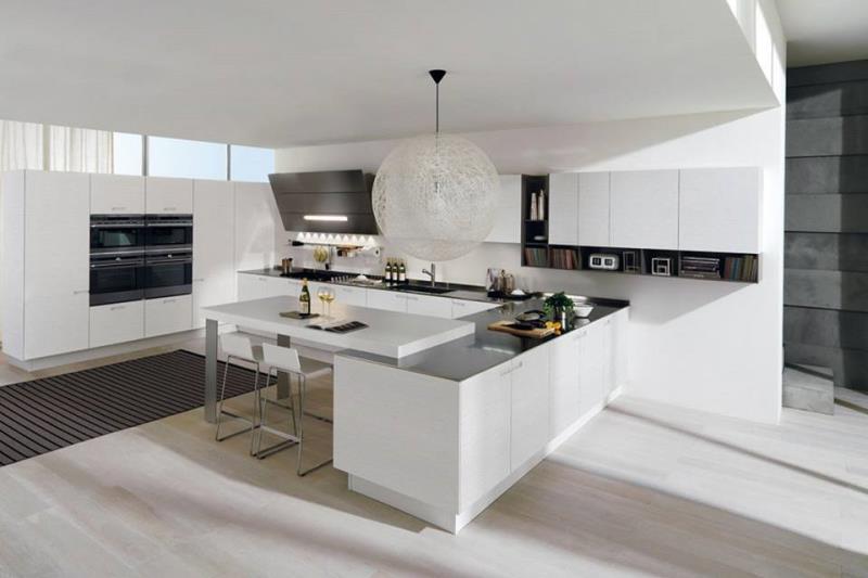 Best Cucina Moderna Bianca Photos - Amazing House Design ...