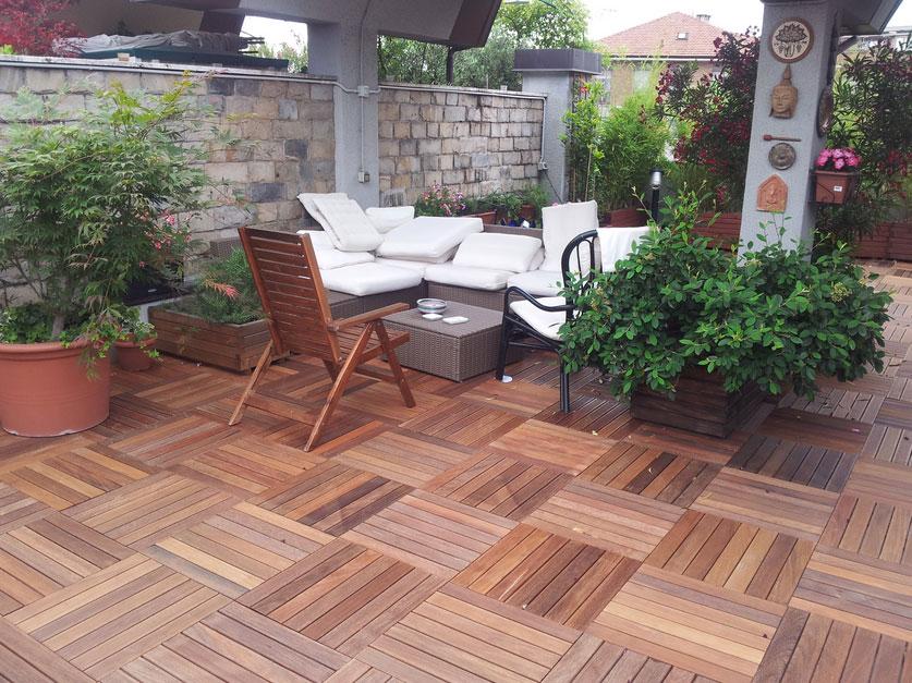 Come scegliere la pavimentazione degli esterni - Pavimento per terrazzo ...