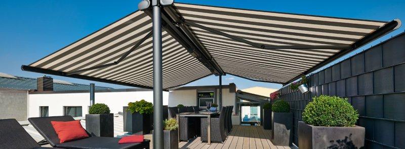 Come scegliere le tende da sole colori materiali prezzi for Tenda terrazzo