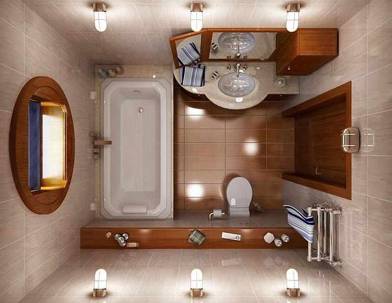 Idee per arredare un bagno piccolo - Come arredare un bagno piccolo ...