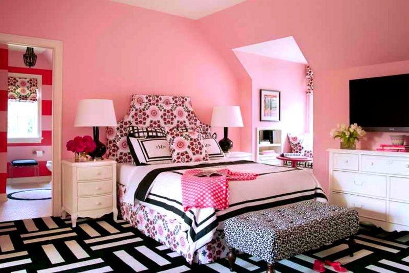 Camere Da Letto Moderne Rosa : Colori camere da letto moderne
