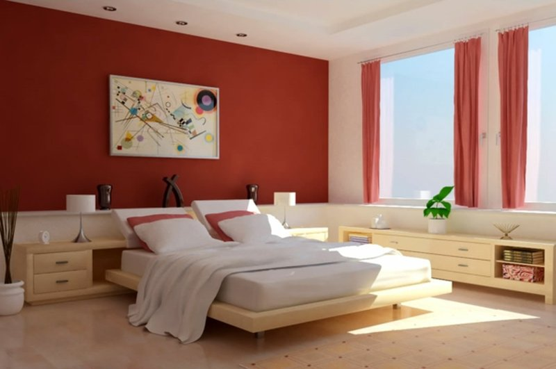 Camere Da Letto Rosse E Bianche : Colori camere da letto moderne