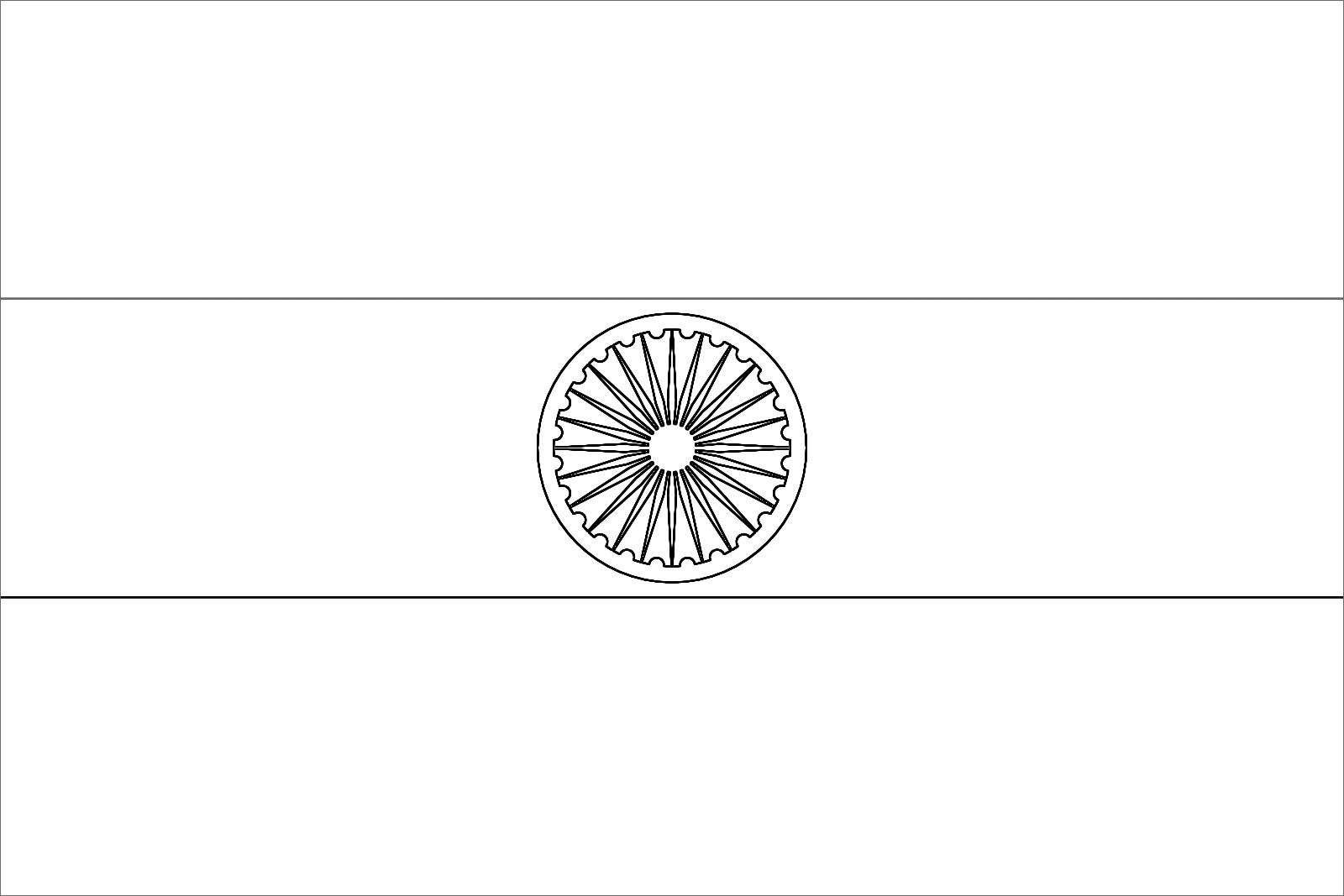 Colori Della Bandiera Dell India