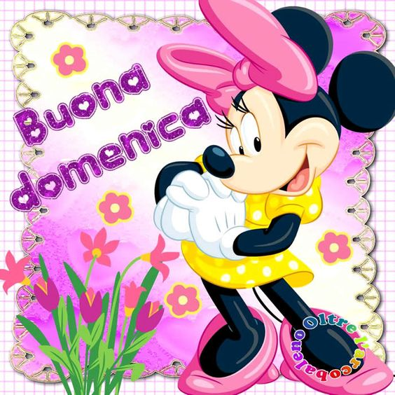 buona-domenica-minnie-disney-facebook