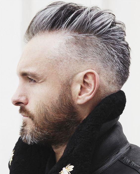 Colorante grigio per capelli uomo