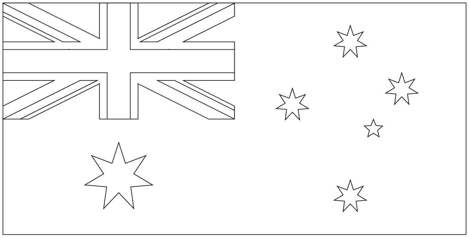 Colori Della Bandiera Dell Australia