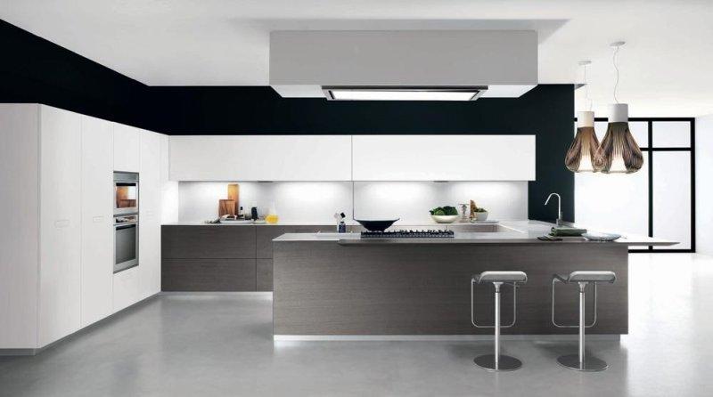Parete Cucina Moderna.Colori Pareti Cucina