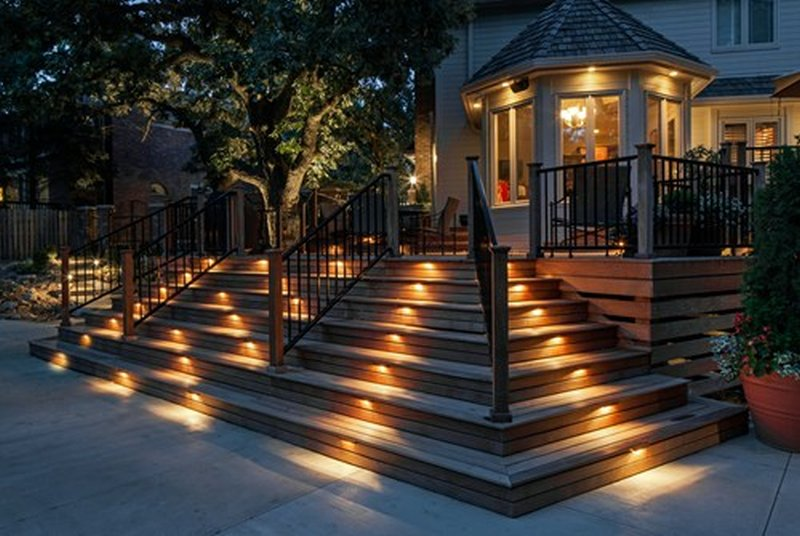 Illuminazione led esterni: faretti a terra per esterni con luci