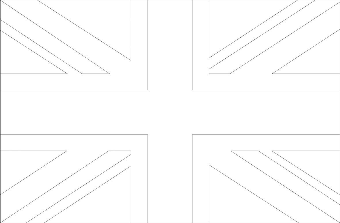Colori Della Bandiera Inglese