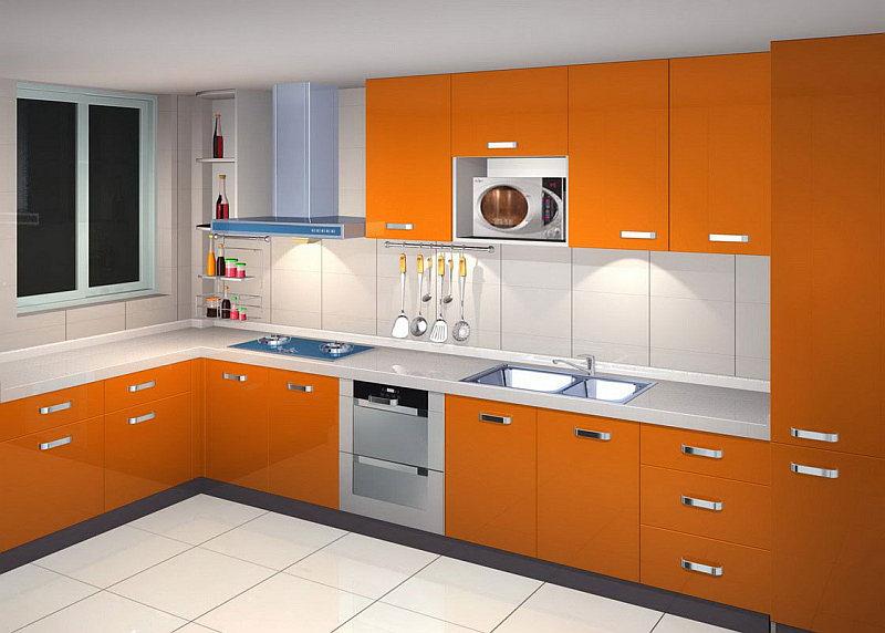 Cucina Moderna Arancione.Colori Cucine Moderne