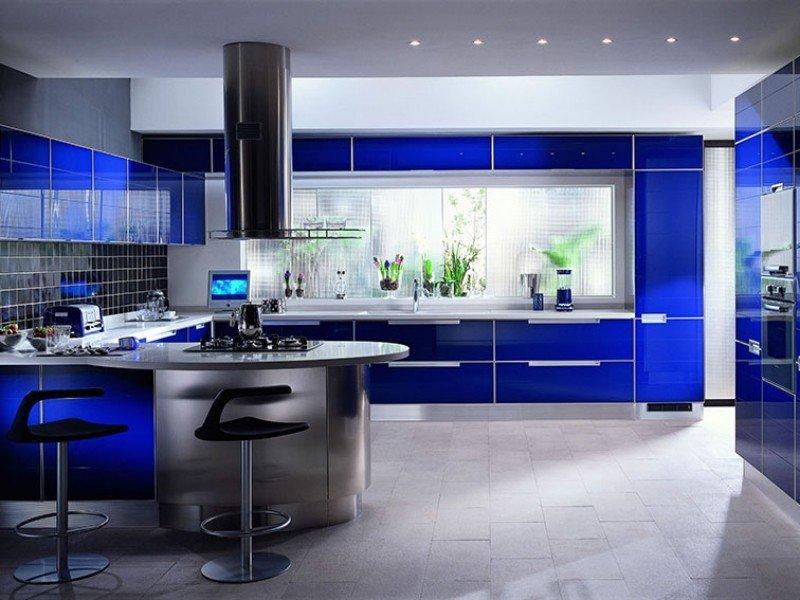 Cucina Blu Moderna.Colori Cucine Moderne