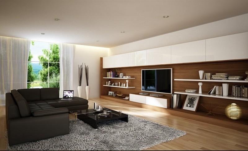 Soggiorno moderno stili colori materiali for Colori soggiorno moderno