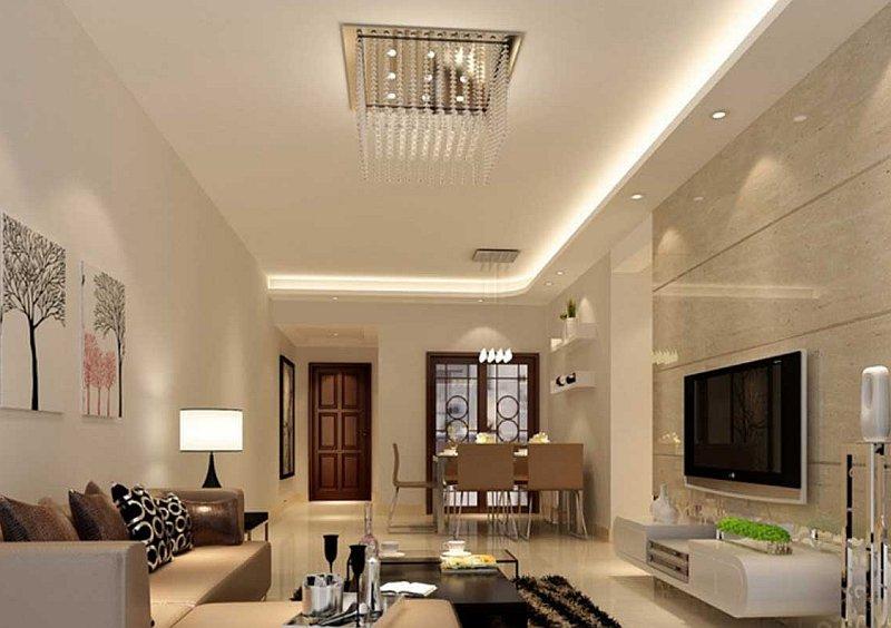 Soggiorno moderno stili colori materiali for Lampadari salone moderni