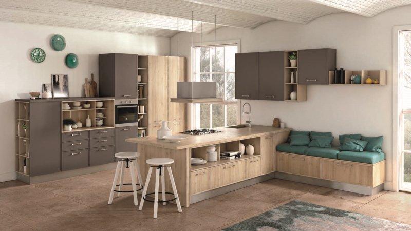 Cucina come abbinare colori pareti mobili elettrodomestici for Colori di cucine moderne