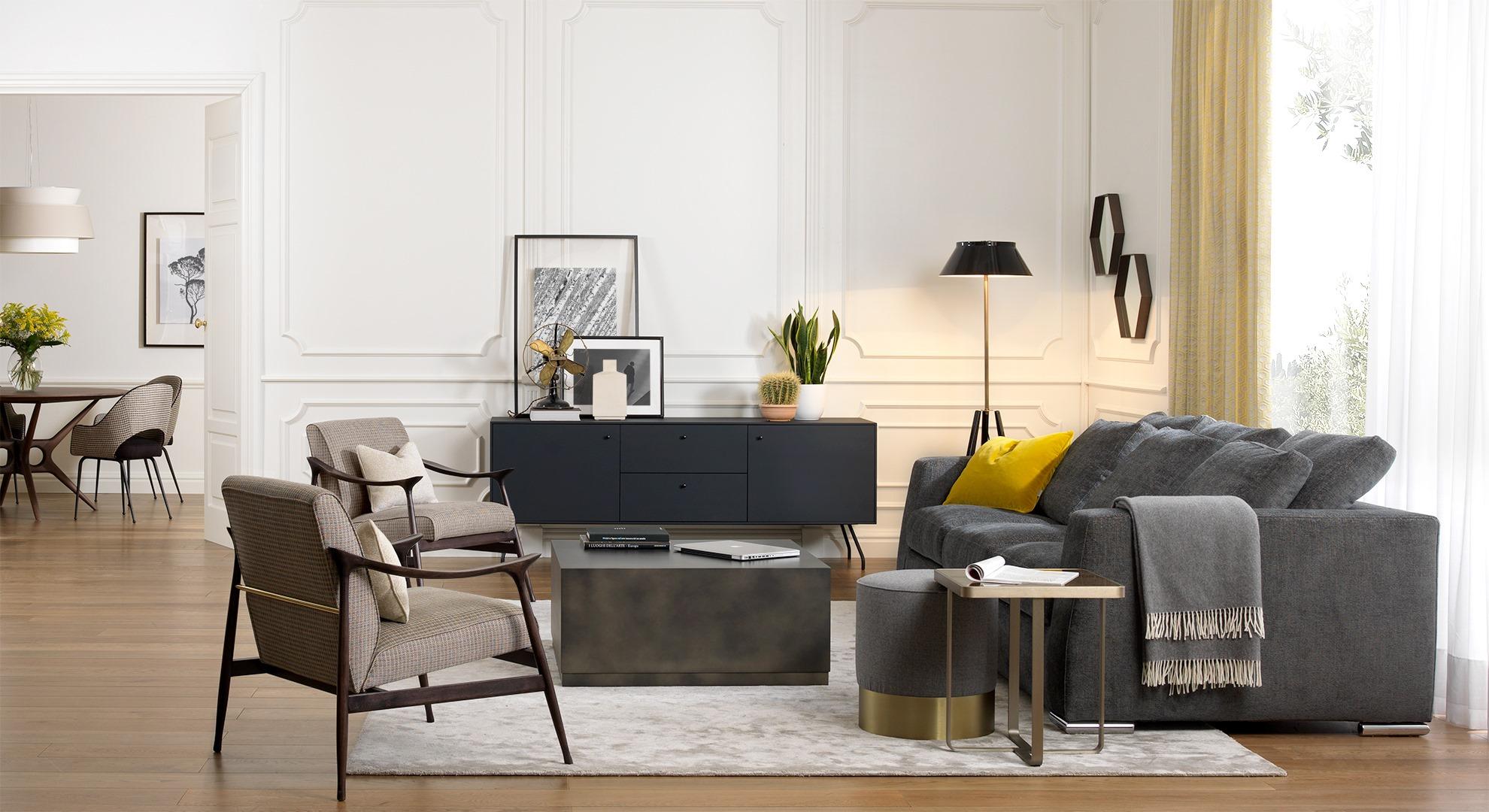 Stacco Tra Parquet E Piastrelle come abbinare i colori di mobili di design, pareti e pavimento